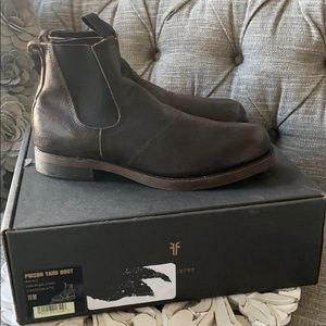 Frye Prison Yard Leather Boots NEW Men's 11